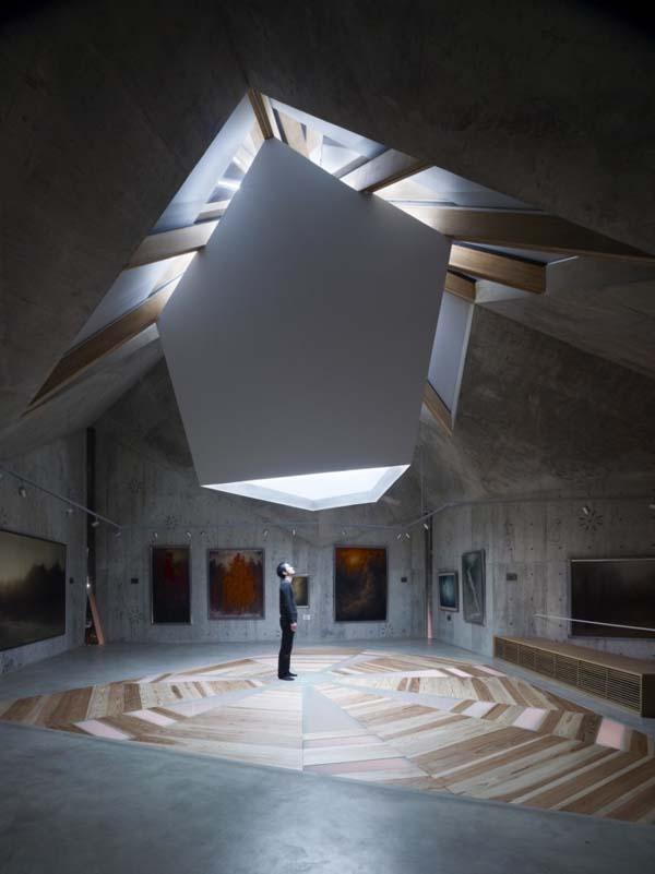 Museo privado de NAF Architect  Design  Revista Arquitectura y Diseo Inspirate con nuestros interiores y casas de diseo