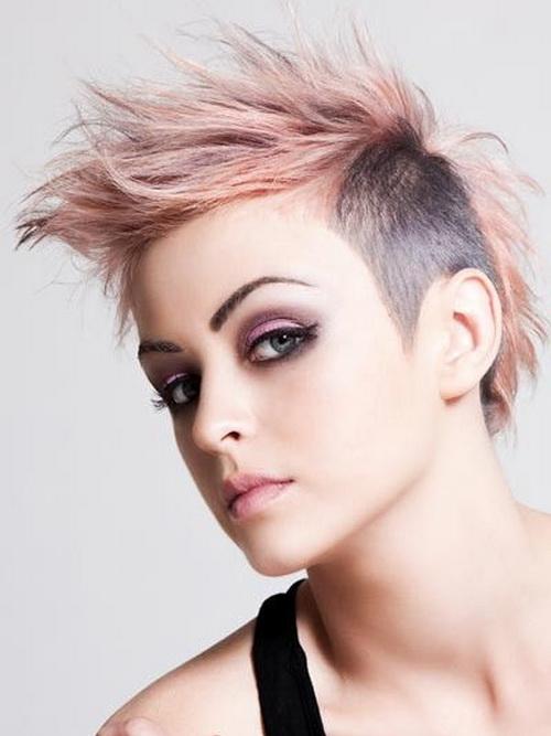 Girl S Punk Hairstyles Hairstylesganz