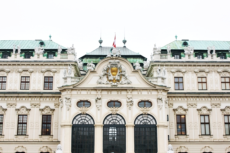 Belvedere palace is on the UNESCO list of cultural heritage