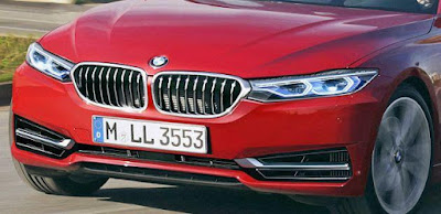 Next Gen 2018 BMW 3 Series front headlight led Hd Pictures