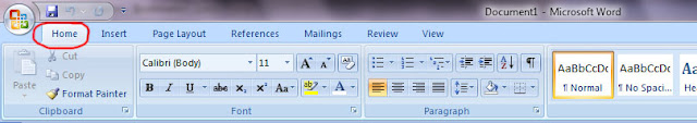 Menu Home Ms. Office