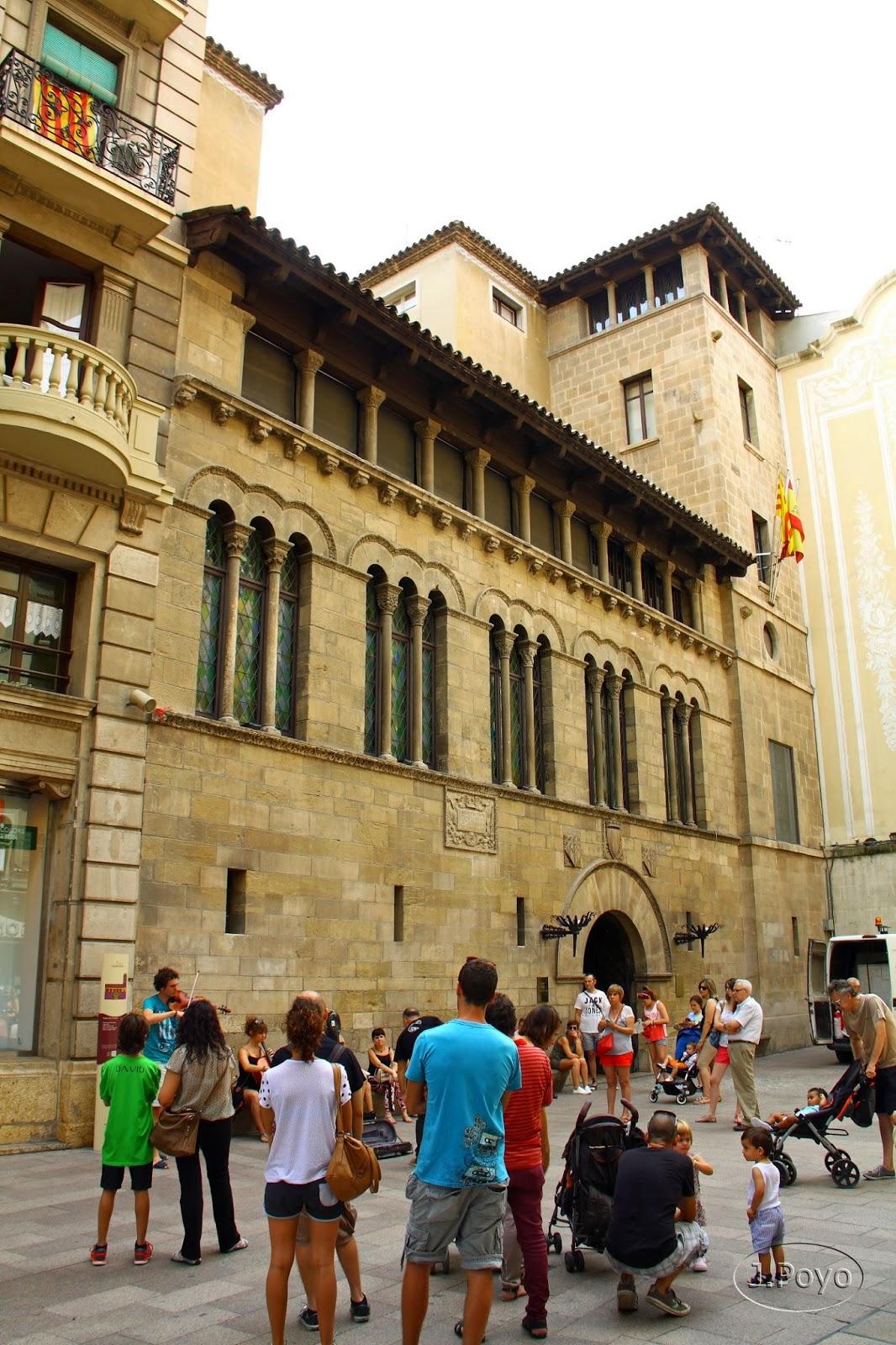 Plaza de la Praeria de Lleida