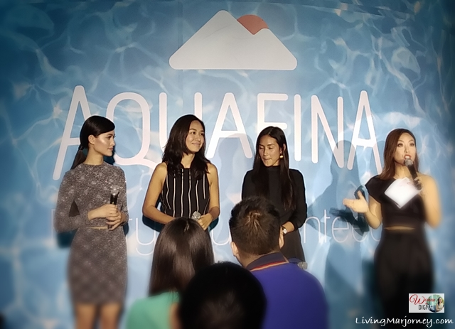 Aquafina Philippine Launch