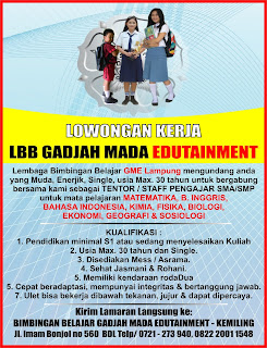 Bimbingan Belajar GME Lampung