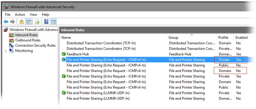 keyliner blogspot com: Enable PING in Windows 10