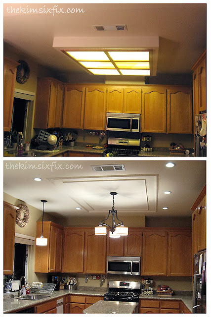 Overhead Flourescent Lighting For Kitchens