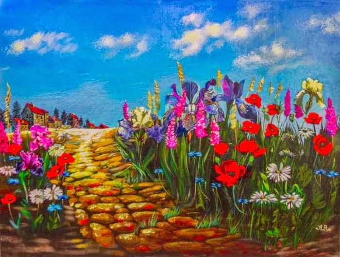 Цвет и веселье. Anatoli Razenberg