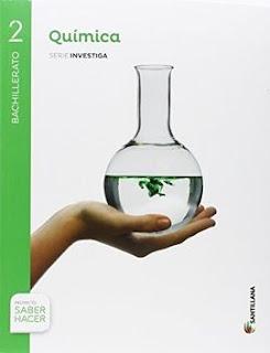 Libro Química 2º Bachillerato Santillana Proyecto Saber Hacer Serie Investiga