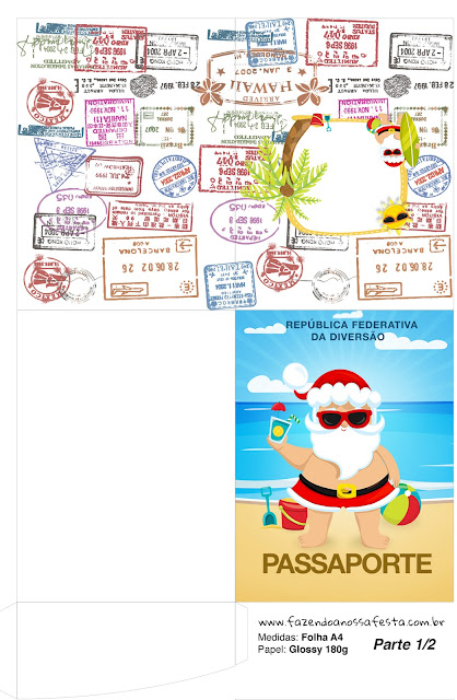 Christmas in the Caribbean: Free Party Printables