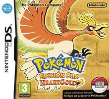 Pokemon HeartGold NDS, Español, mega