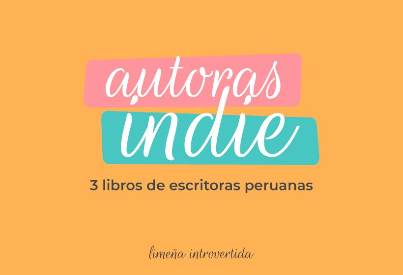 3 libros de escritoras peruanas