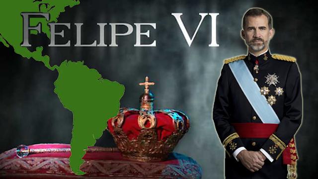 El rey Felipe VI persona 'non grata' para la comunidad indígena latinoamericana