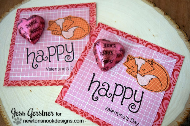 Fox Valentine Treat by Jess Gerstner featuring Newton's Nook Designs