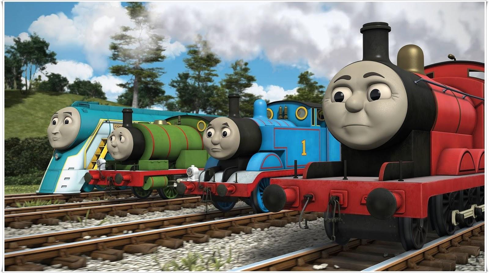 Koleksi Gambar Kartun Kereta Api Thomas
