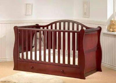 box bayi sederhana dari kayu jati