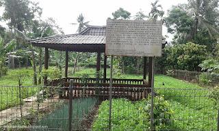 Situs purbakala di desa beteng sari jabung