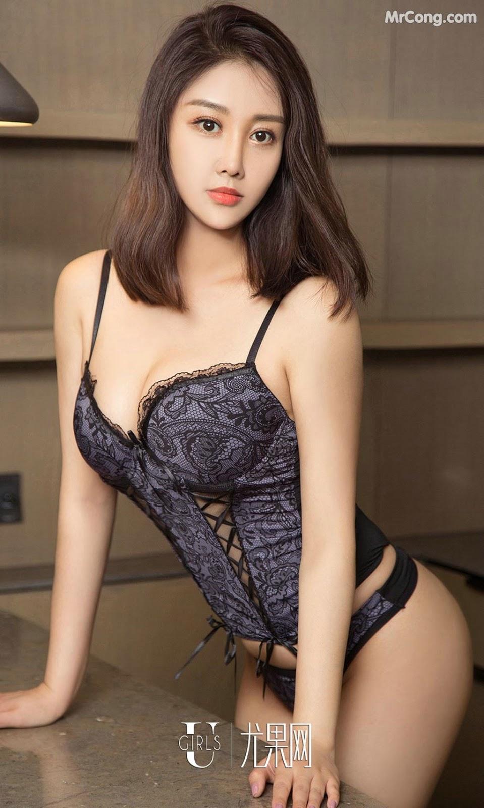Image UGIRLS-Ai-You-Wu-App-No.814-An-Ying-MrCong.com-003 in post UGIRLS – Ai You Wu App No.814: Người mẫu An Ying (安莹) (40 ảnh)