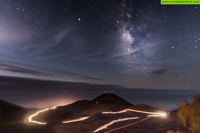 Foto del grancanario Adrián García Rivero, ganador del primer premio de la edición de 2018 del concurso Transvulcania Photo Contest