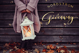 Enter the Nordstrom Insta Giveaway. Ends 11/28. Open WW