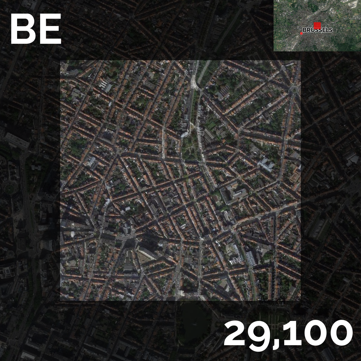 Map Showing Europe%0A The Most Densely Populated Square Kilometre in    European Countries