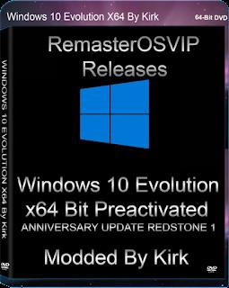 Windows 10 Evolution x64 RS1 [September 2016][1Part GoogleDrive]