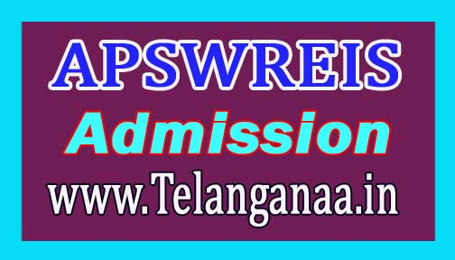 APSWREIS FIFCAT 2017 5th Class Admission Test