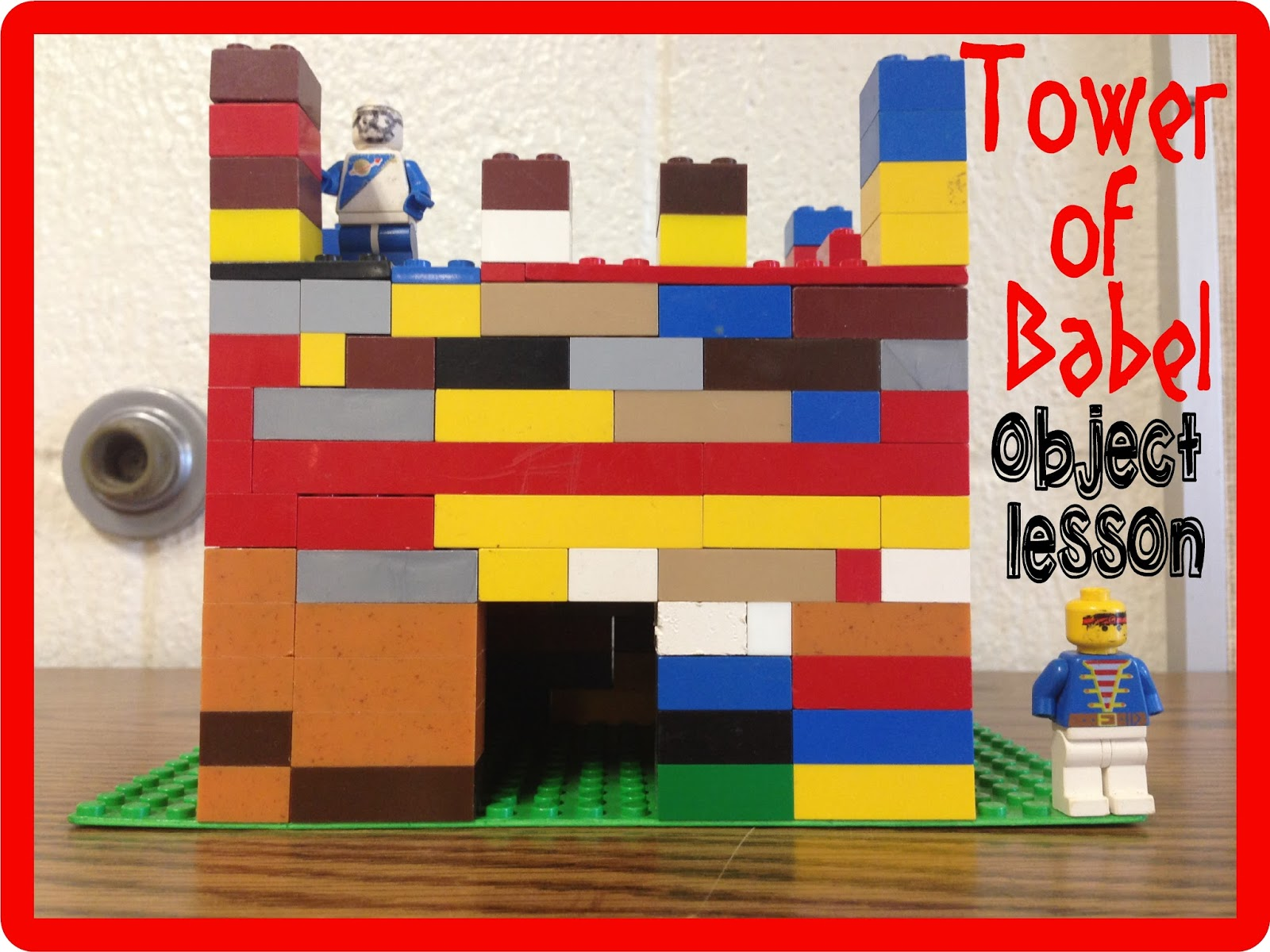 HollysHome - Church Fun: Old Testament Tower of Babel Object