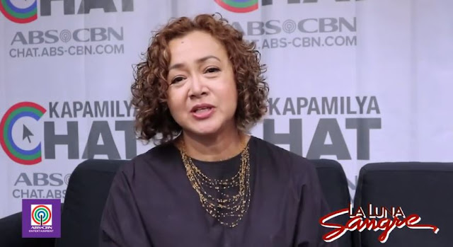 """""""Si Angel ay masarap kasama..,"""" Shamaine Buencamino Shares Her Experience Working With Angel And Richard In La Luna Sangre"""
