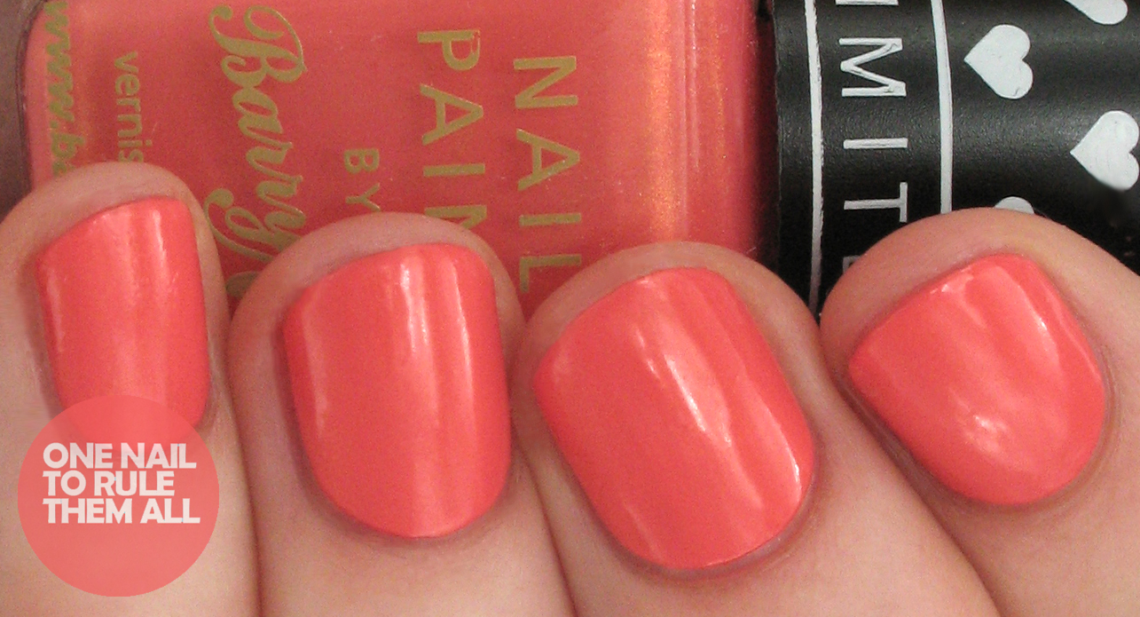 One Nail To Rule Them All Barry M Summer 2014 Limited Edition Nail Polish For Boots