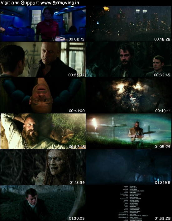The Last Witch Hunter 2015 English 720p BRRip 950MB ESubs