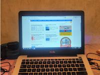 Senangnya Ngeblog dengan Laptop ASUS Baru dari Menang Lomba Blog Kudo