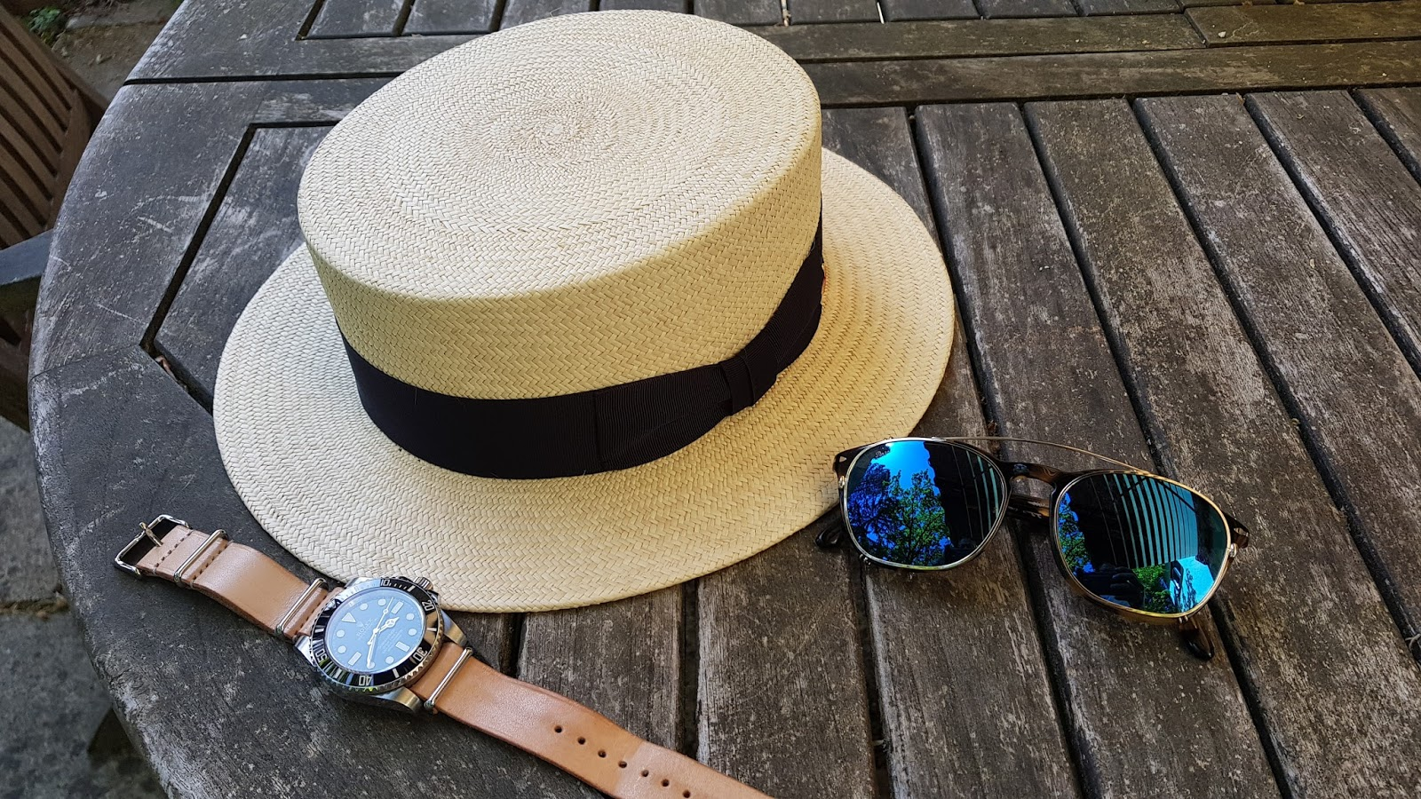 71ce8253a Landless Gentry: I've Found My Summer Hat Right here in Munich at ...