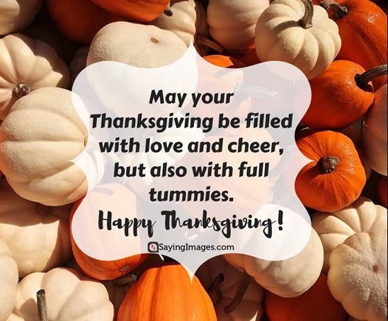 Thanksgiving Day Wishes Messages