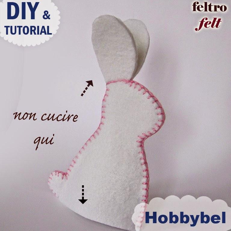 Coniglio pasqua cartamodello fai da te easter bunny free for Fai da te creativo