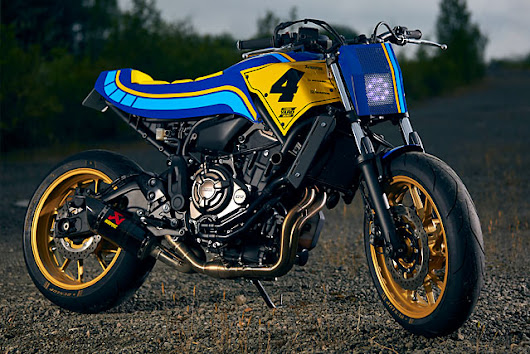 Russell Motorcycles Resilience - A Yamaha Yard Build Project