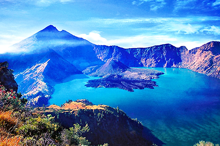 Wisata Danau Segara Anak Gunung Rinjani Yang Mempesona