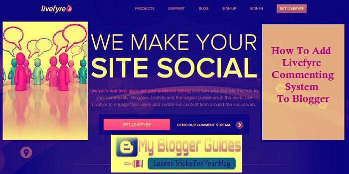 Livefyre commenting system, blogger livefyre comments, add blogger livefyre, blogger comments livefyre