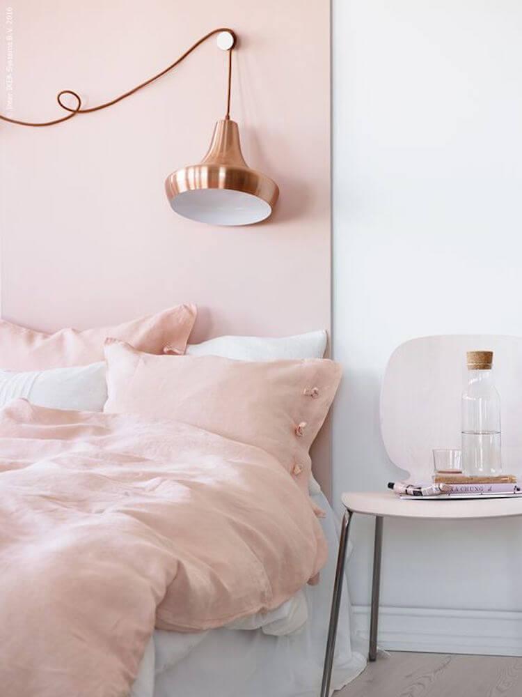 cabecero cama tablero pintado