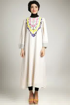 Trend Model Baju Dress Muslim Kaftan