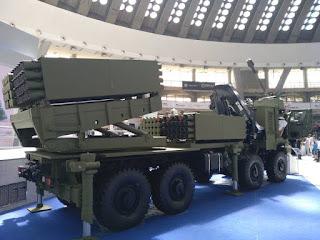 MLRS Tamnava Kaliber 122mm dan 267mm