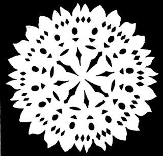 снежинки со схемами