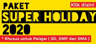 Paket Super Holiday Juni 2020