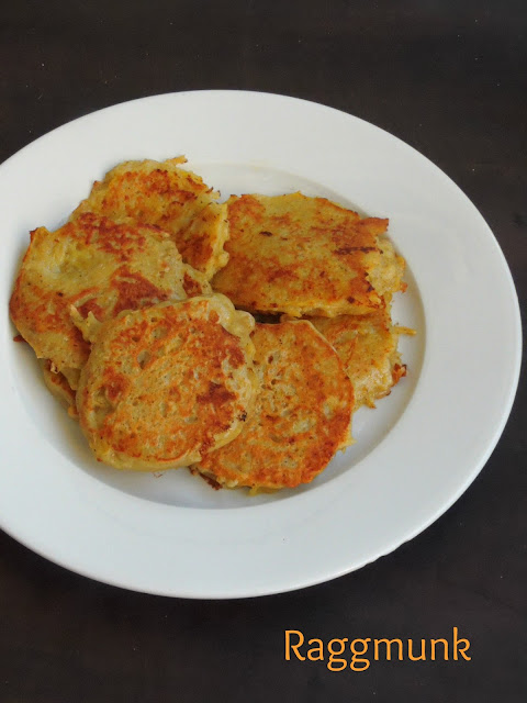 Raggmunk, Swedish Potato Pancake