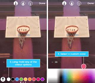 Cara Menambahkan Lebih Banyak Warna ke Story Instagram