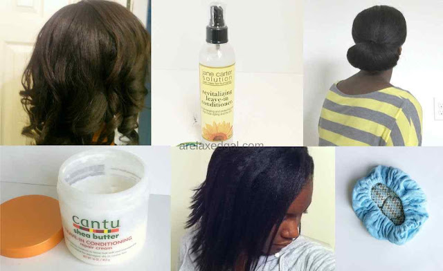 Getting started with a healthy relaxed hair joruney | arelaxedgal.com