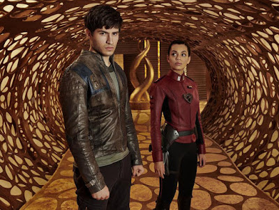 Krypton Series Cameron Cuffe and Georgina Campbell Image 1