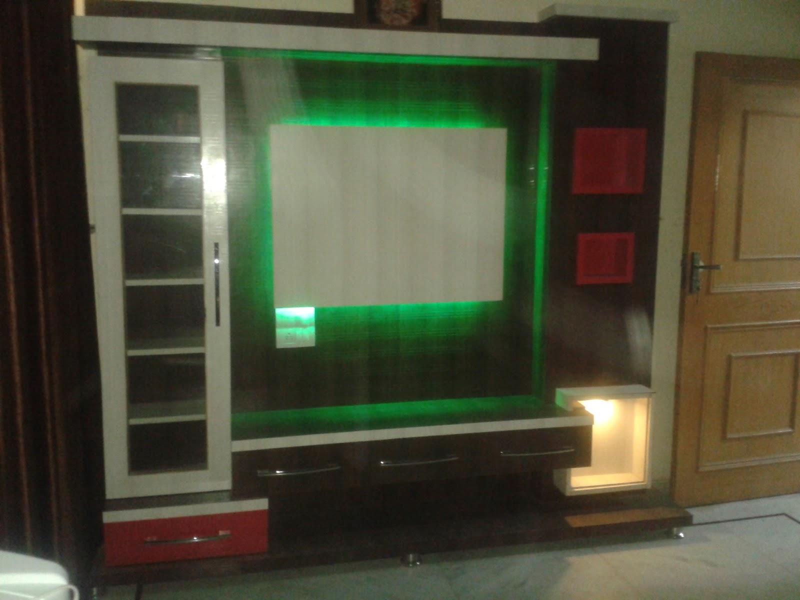 K K Wood Design Namol Sangrur Wooden Lcd Panel Made By
