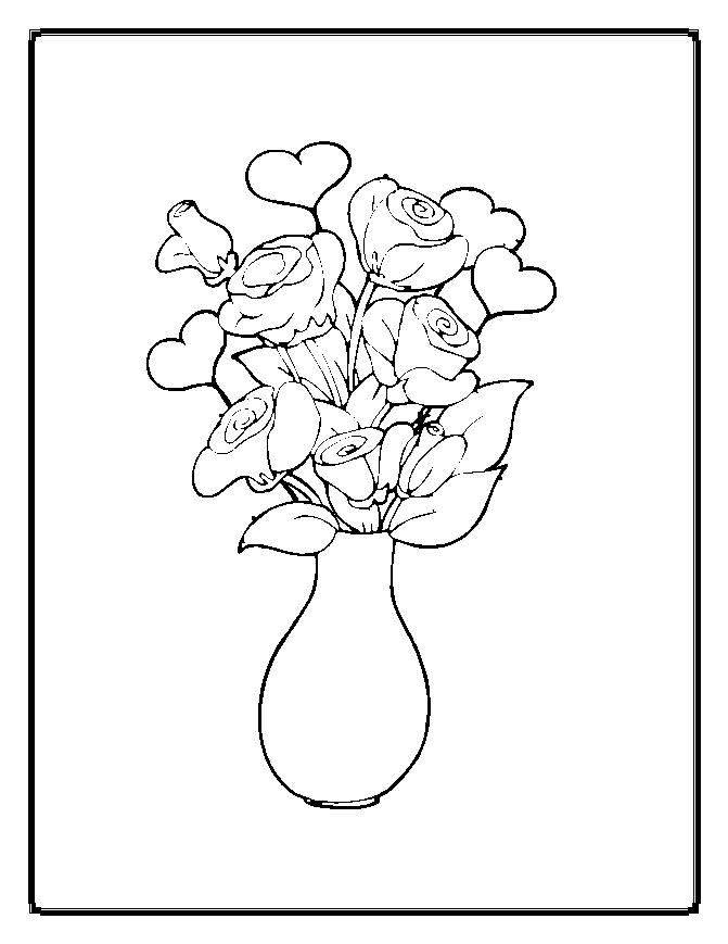 Roses Coloring Pages Ideas For The Girls Kids Coloring Pages