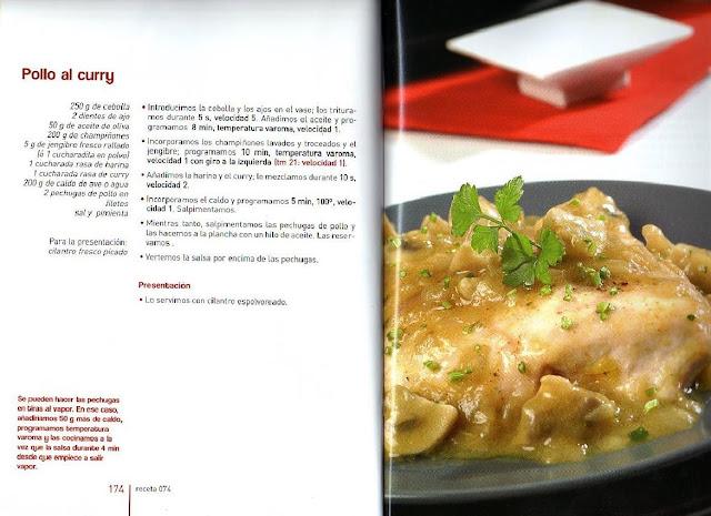 Archivo De Recetas Thermomix Pollo Al Curry
