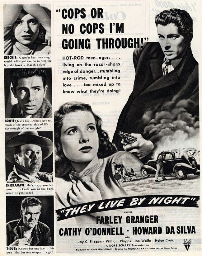 Film Noir of the Week: They Live by Night (1948)